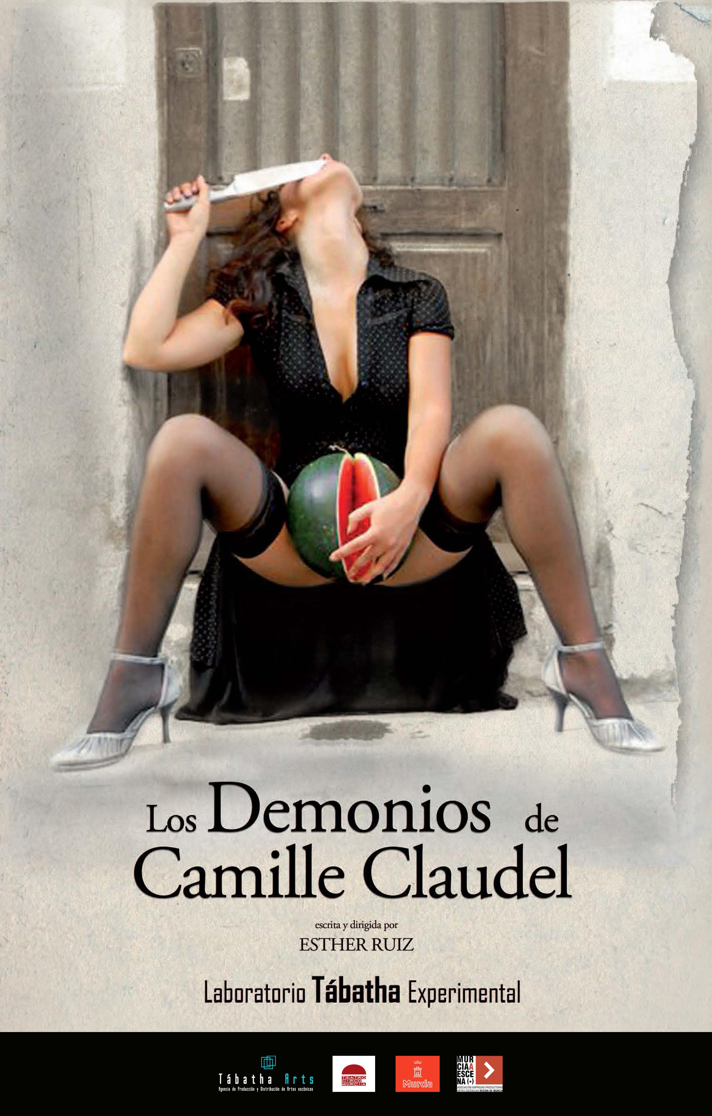 CARTEL LOS DEMONIOS DE CAMILLE CLAUDELtrt